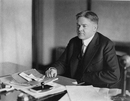 Herbert Hoover as Commerce Secretary