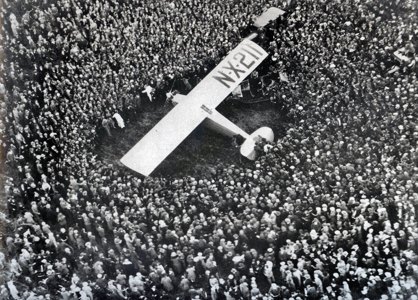 Lindbergh in Paris