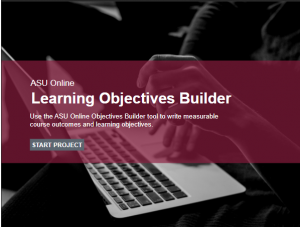 Learning Objective Builder