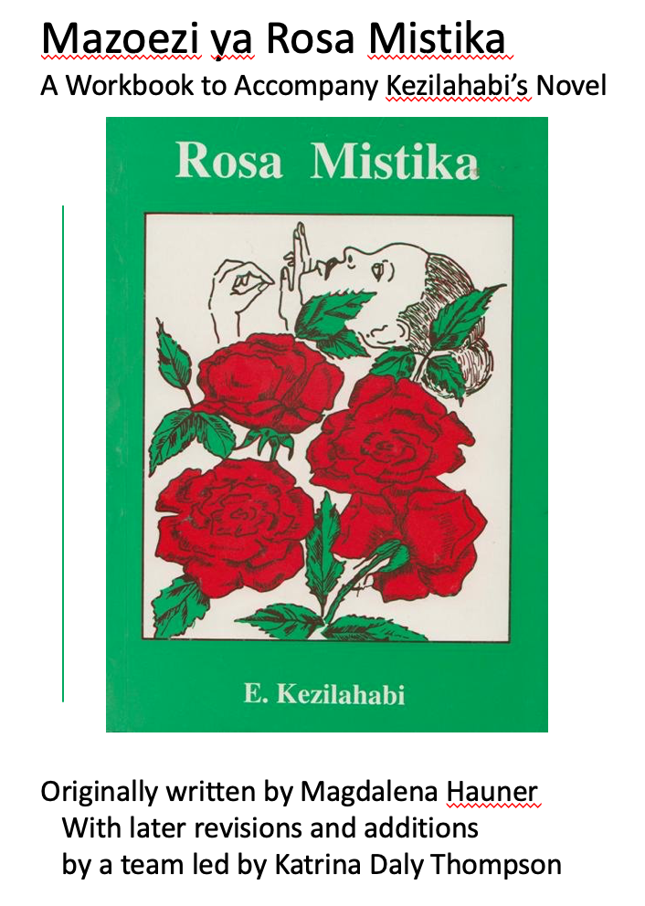 Cover image for Mazoezi ya Rosa Mistika