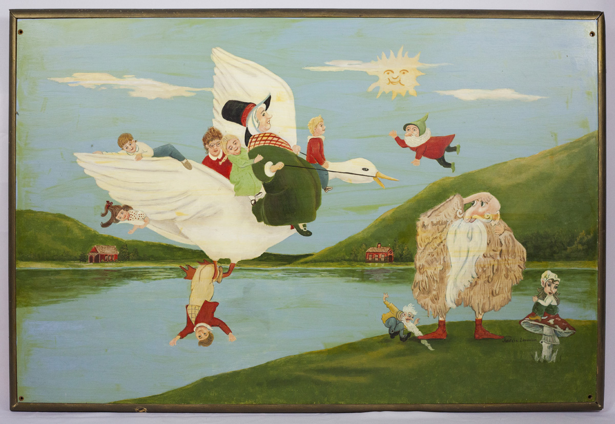Mother Goose painting