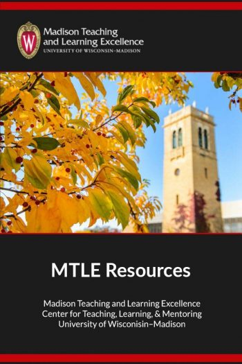 Cover image for MTLE Resources
