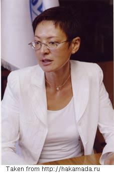 Irina Khakamada