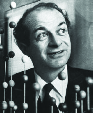 A photograph of Linus Pauling is shown.
