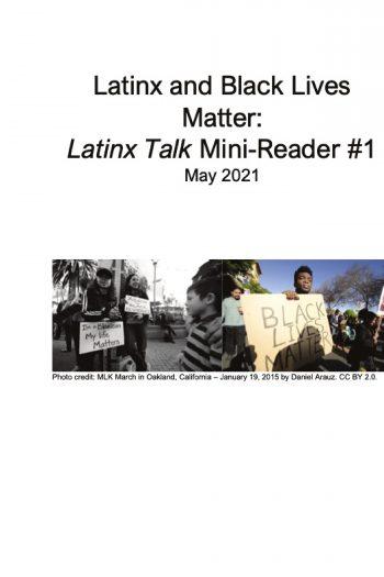 Cover image for Latinxs and Black Lives Matter: Latinx Talk Mini-Reader #1